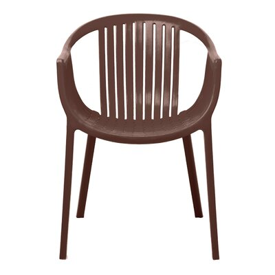 Rowan Arm Chair Upholstery: Brown