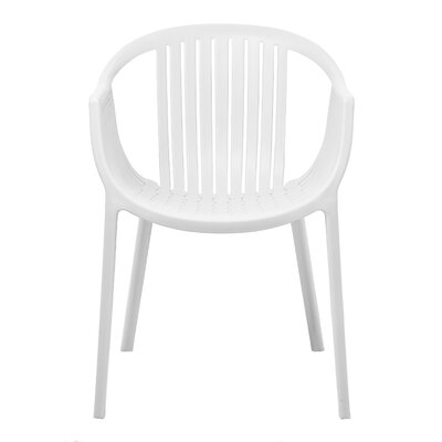 Rowan Arm Chair Upholstery: White