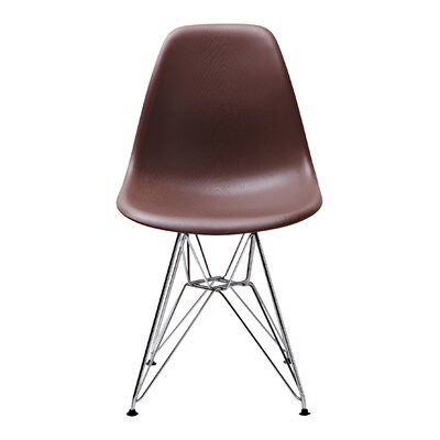 Conner Side Chair Upholstery: Brown