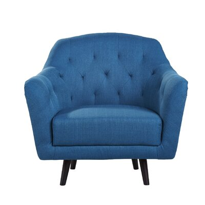 Aurora Arm Chair Color: Blue