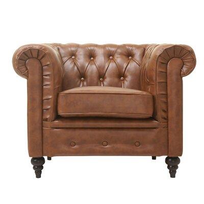 Arlington Club Chair Upholstery: Chestnut