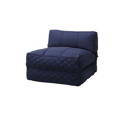 Austin Bean Bag Lounger Upholstery: Blue