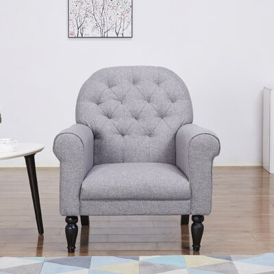 Oakland Armchair Upholstery: Ash