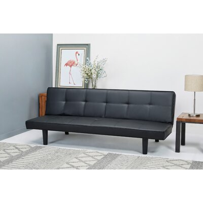 Chantal Convertible Sofa Upholstery: PU Leeather