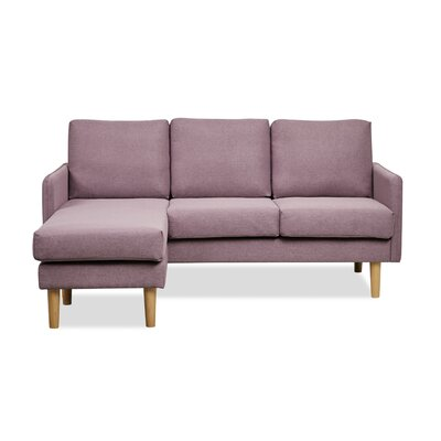 Florez Reversible Sectional Upholstery: Orchid