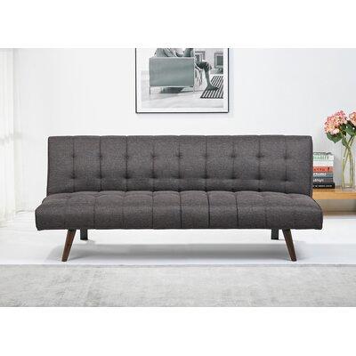 Warfel Convertible Sofa Upholstery: Granite