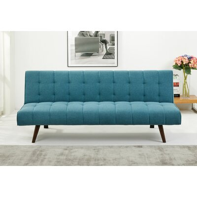 Warfel Convertible Sofa Upholstery: Marine