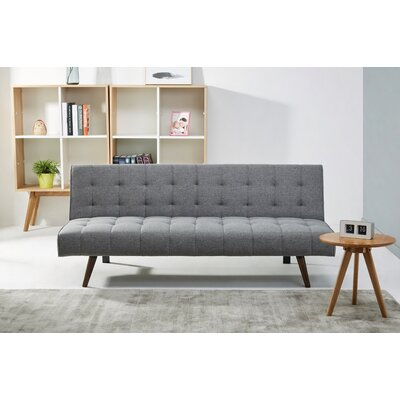 Warfel Convertible Sofa Upholstery: Stone