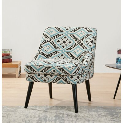Donnellson Upholstered Accent Chair Upholstery: Ikat