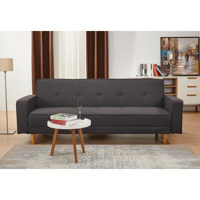 Lawrence Hill Convertible Reclining Sectional Upholstery: Charcoal