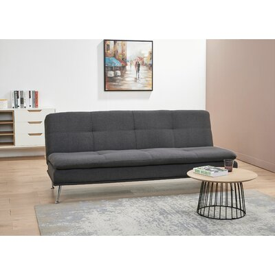 Konen Convertible Reclining Sectional Upholstery: Charcoal