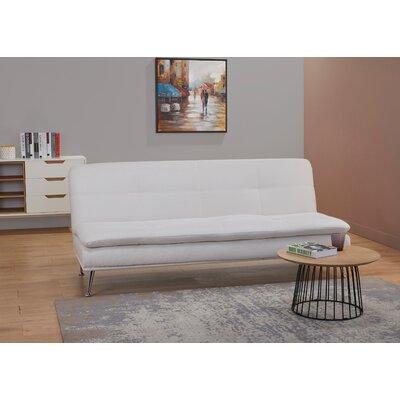 Konen Convertible Reclining Sectional Upholstery: Ivory