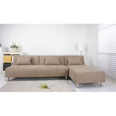 ADC-ATL-SEC-MFX-STO XQS1130 Gold Sparrow Atlanta Convertible Sectional Sofa Bed