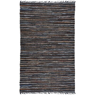 Matador Leather Chindi Brown Area Rug Rug Size: 4 x 6