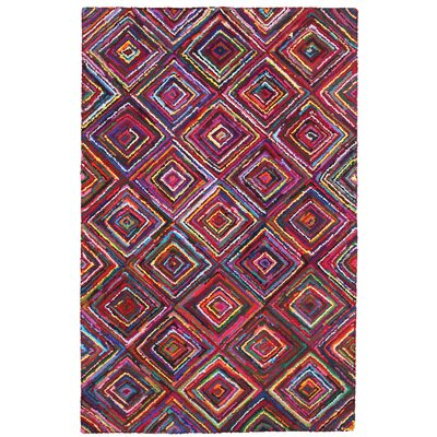 Brilliant Ribbon Diamonds Area Rug Rug Size: 5 x 8