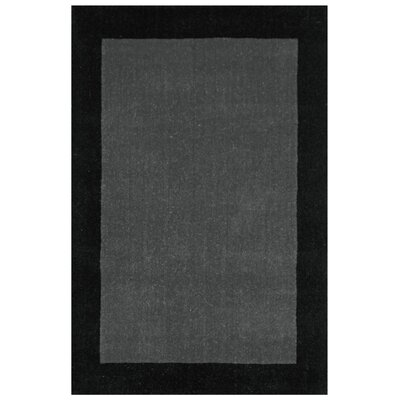 Pulse Grey Border Rug Rug Size: 4 x 6