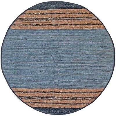 Matador Hand-Loomed Gray Area Rug Rug Size: Round 3