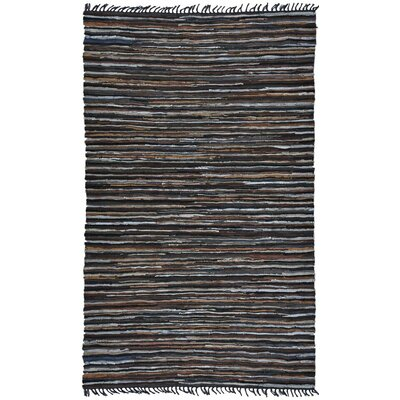 Matador Hand-Loomed Brown Area Rug Rug Size: 5 x 8