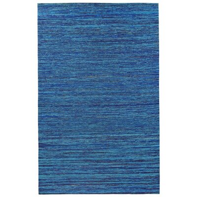 Sari Silk Handmade Blue Area Rug Rug Size: 4 x 6