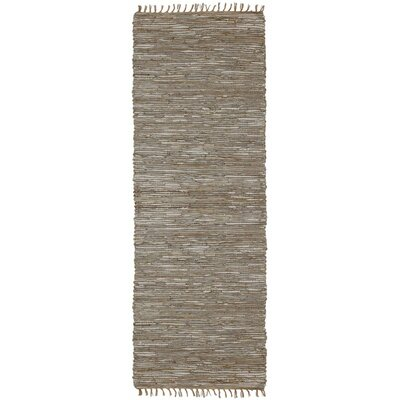 Matador Hand-Loomed Natural Area Rug Rug Size: Runner 26 x 14