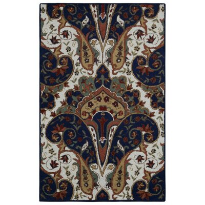 Structure Hand-Tufted Brown Area Rug Rug Size: 5 x 8