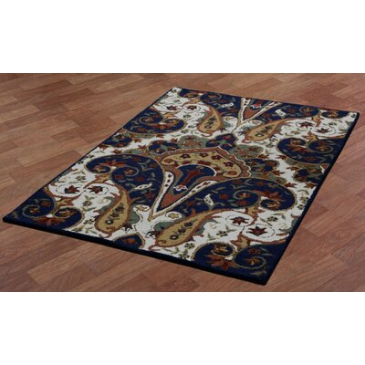 Structure Hand-Tufted Brown Area Rug Rug Size: 4 x 6