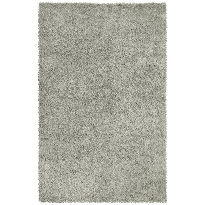 Shagadelic Hand-Loomed Gray Area Rug Rug Size: Rectangle 19 x 210