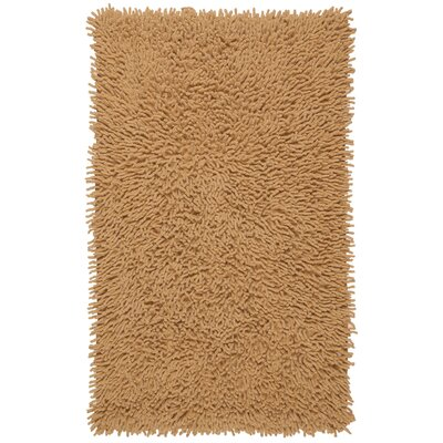 Shagadelic Hand-Loomed Tan Area Rug Rug Size: Rectangle 19 x 210