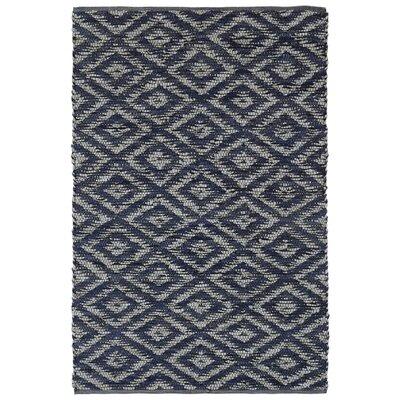 Matador Hand-Loomed Blue Area Rug Rug Size: 5 x 8