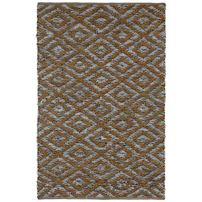 Matador Hand-Loomed Gold Area Rug Rug Size: 5 x 8