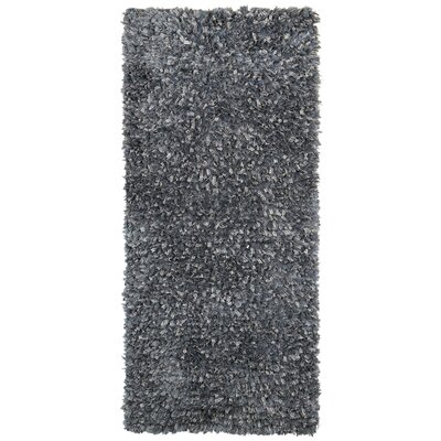Baumann Hand-Loomed Gray Area Rug Rug Size: Rectangle 2' x 5'