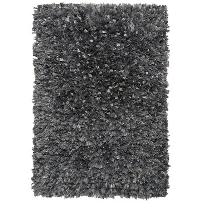 Baumann Hand-Loomed Gray Area Rug Rug Size: Rectangle 26 x 42
