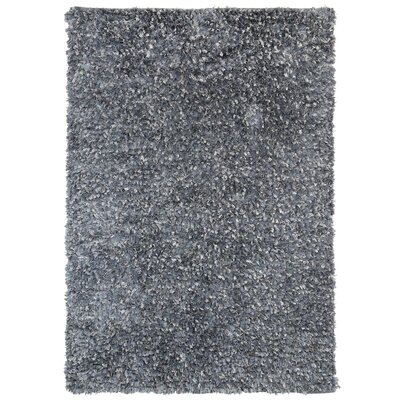 Shimmer Hand-Loomed Gray Area Rug Rug Size: 4 x 6