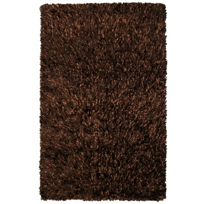 Baumann Hand-Loomed Brown Area Rug Rug Size: Rectangle 4 x 6