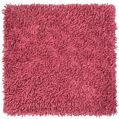 Shagadelic Chenille Euro Pillow Color: Pink