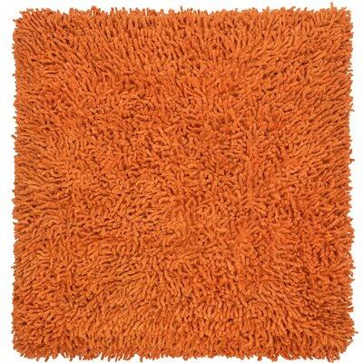 Shagadelic Chenille Euro Pillow Color: Copper