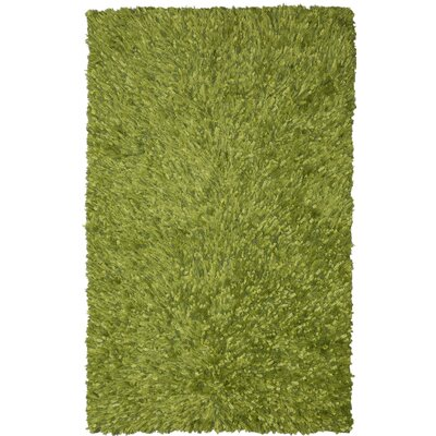 Baumann Hand-Loomed Green Area Rug Rug Size: Rectangle 4 x 6