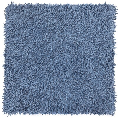 Shagadelic Chenille Euro Pillow Color: Blue