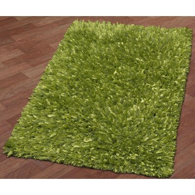 Baumann Hand-Loomed Green Area Rug Rug Size: Rectangle 26 x 42