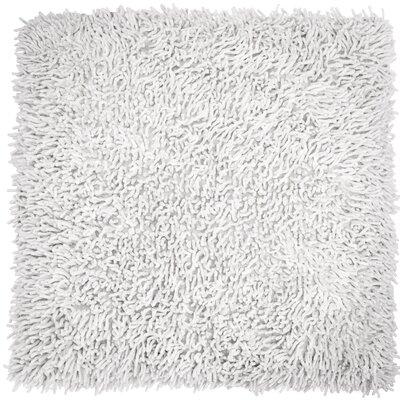 Shagadelic Chenille Euro Pillow Color: White