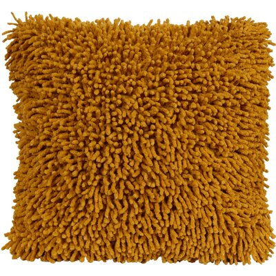 Shagadelic Chenille Euro Pillow Color: Gold