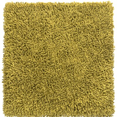 Shagadelic Chenille Euro Pillow Color: Moss