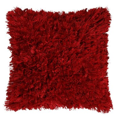 Sandoz Throw Pillow Size: 18 H x 18 W x 6 D, Color: Red