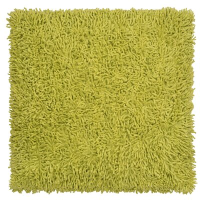 Shagadelic Chenille Euro Pillow Color: Green