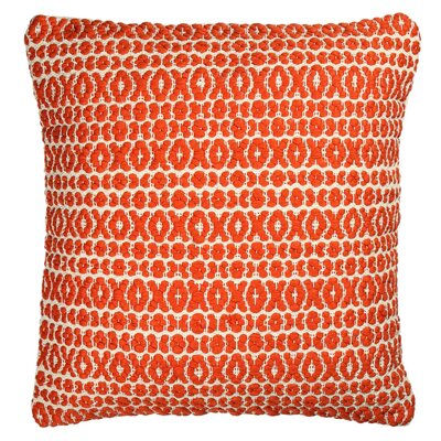 Structure Pillow Size: 18 H x 18 W x 7 D, Color: Orange