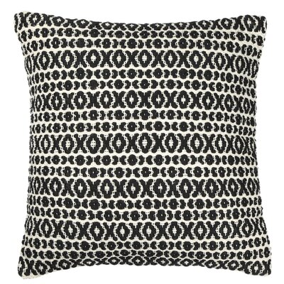 Structure Pillow Size: 18 H x 18 W x 7 D, Color: Black