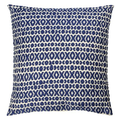 Structure Pillow Size: 27 H x 27 W x 9 D, Color: Blue
