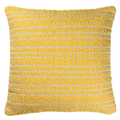 Structure Pillow Size: 18 H x 18 W x 7 D, Color: Yellow