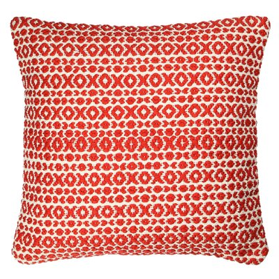 Structure Pillow Size: 18 H x 18 W x 7 D, Color: Red