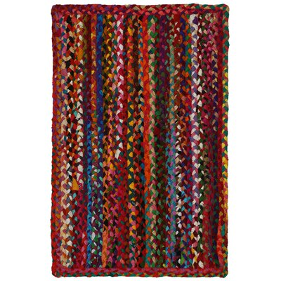 Hand-Loomed Multi Color Area Rug Rug Size: 19 x 210